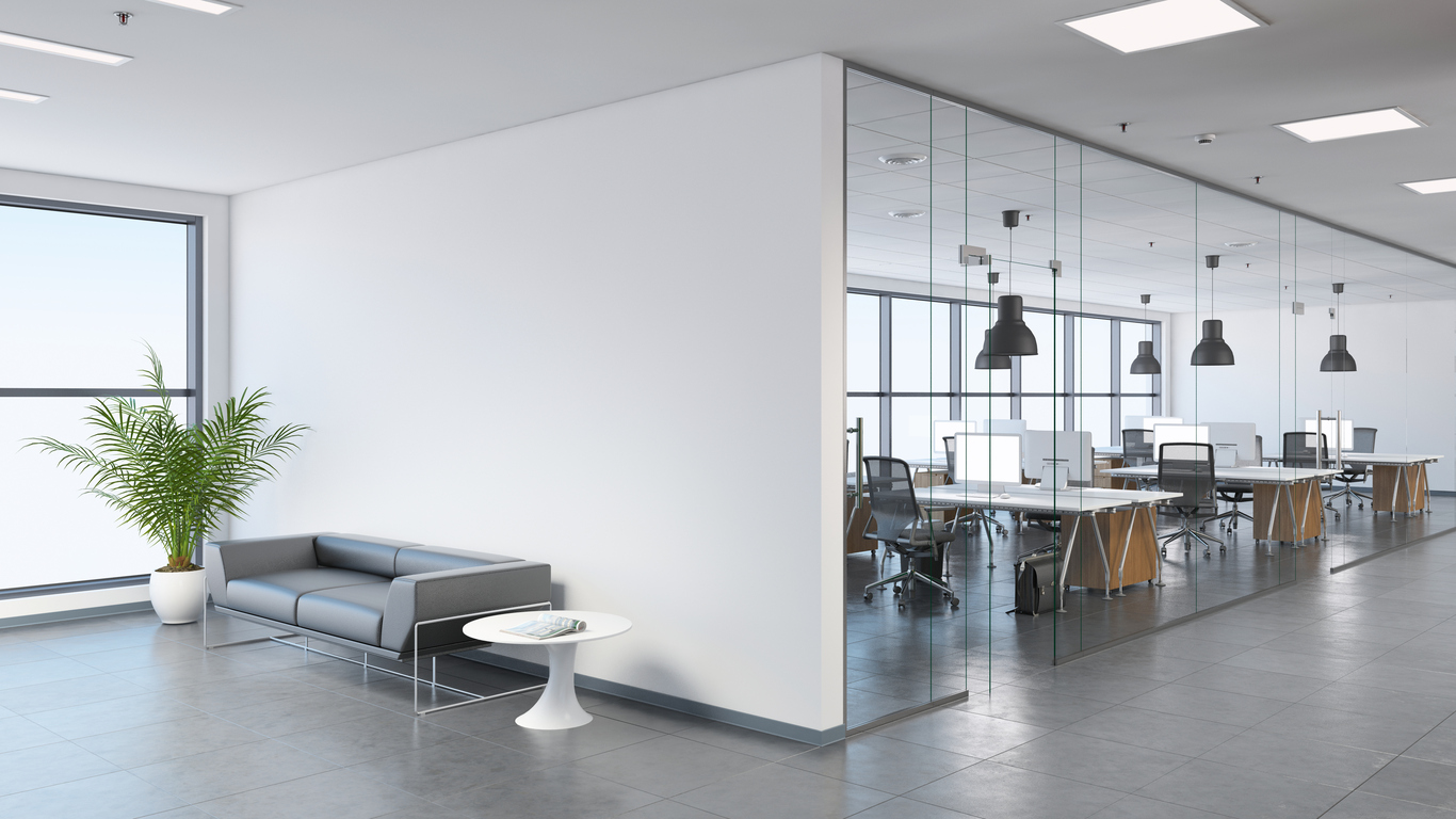 What a corporate office design can say about your business for Design your office online