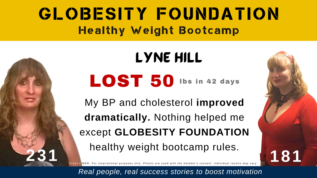LYNE HILL LOST 50 LBS (AND COUNTING) TO REVERSE HER FATTY LIVER DISEASE
