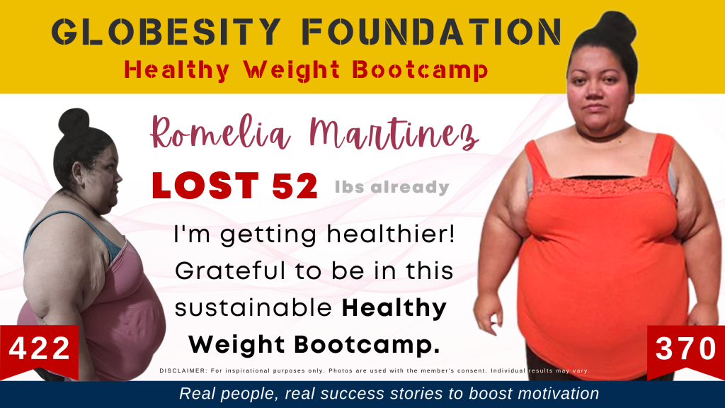 ROMELIA MARTINEZ LOST 52 LBS (AND COUNTING), LOVES THE BOOTCAMP'S HEALTHY LIFESTYLE SHE AND FAMILY CAN KEEP UP WITH