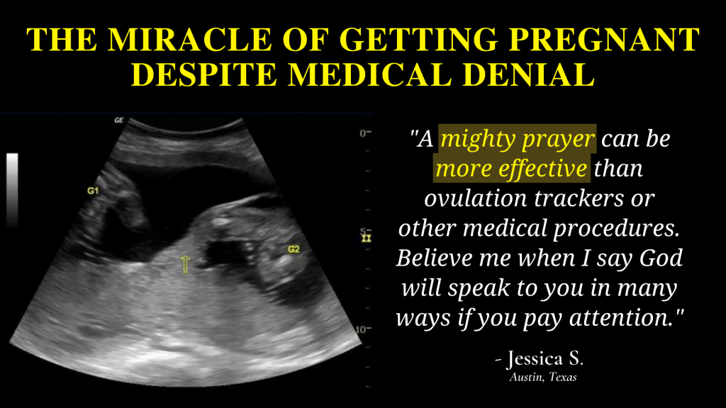 THE MIRACLE OF GETTING PREGNANT DESPITE MEDICAL DENIAL | HOLY LAND MAN EXPLAINS